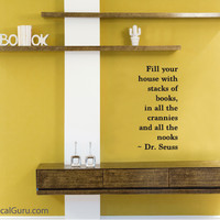 Dr. Seuss Book Quote | Wall Decals | The Decal Guru