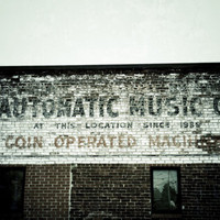 Vintage Wall Decor, Automatic Music Company, Retro Wall Art, Chattanooga Photography