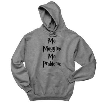 Mo Muggles Mo Problems Mens Hoodie