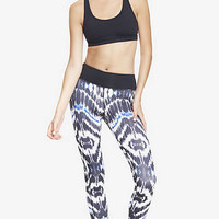 EXP CORE COMPRESSION IKAT LEGGING from EXPRESS