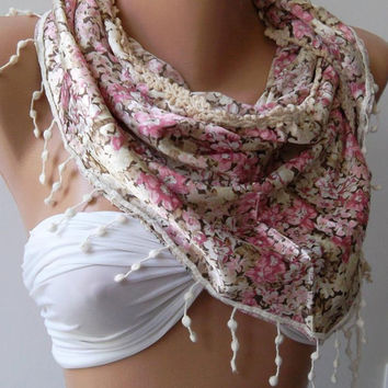 Elegance Shawl / Scarf.  Soft and light.