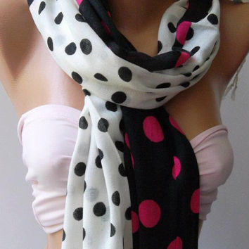 Elegant/Shawl - Scarf / soft cotton