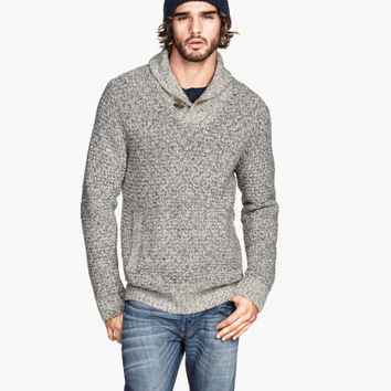 H&M - Wool-blend Knit Sweater