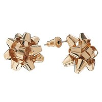 Christmas Bow Stud Earrings