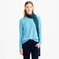 COLLECTION CASHMERE TEXTURED BOYFRIEND SWEATER