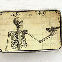Skeleton Belt Buckle by bmused
