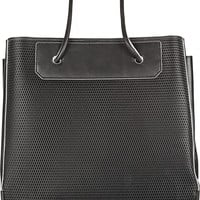 Alexander Wang Prisma large 3D mesh-effect leather tote – 50% at THE OUTNET.COM