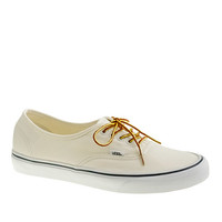 Unisex Vans For J.Crew Canvas Authentic Sneakers