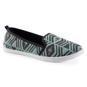 Aeropostale Southwestern Slip-On - Playful Aqua,