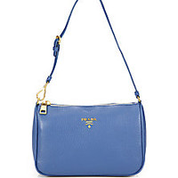 Prada - Daino Mini Hobo Bag - Saks Fifth Avenue Mobile