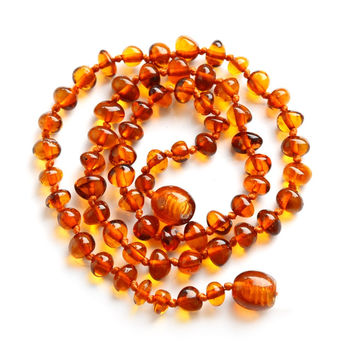 Amber necklace for kids 2830