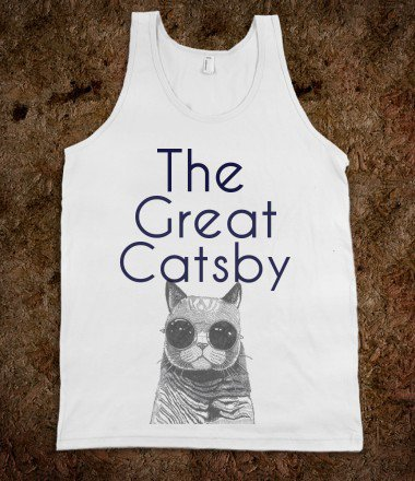 The Great Catsby Tank - Geeked Up