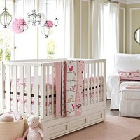 Penelope Pink Chocolate Nursery | Pottery Barn Kids