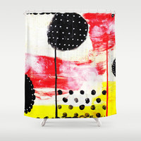 001 Shower Curtain by her art