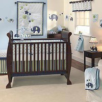 Jumbo Bedding by Lambs & Ivy - Baby Crib Bedding - 507004v