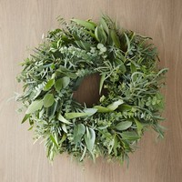 Mixed Eucalyptus Wreath