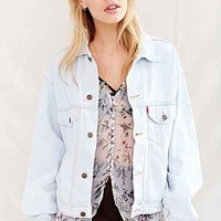 Urban Renewal Recycled Bleach-Out Denim Trucker Jacket - Urban Outfitters