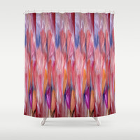 Abstract Flowers #4 Shower Curtain by Jenartanddesign | Society6