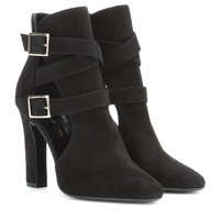 tamara mellon - highway suede ankle boots