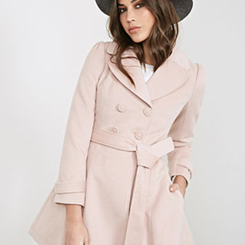 Double-Breasted Princess Coat