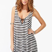 Skelly Stripe Dress