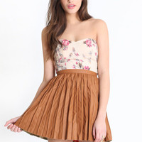 Dare To Stare Faux Leather Skirt - $64.00: ThreadSence, Women's Indie & Bohemian Clothing, Dresses, & Accessories