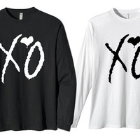 the weeknd xo for long sleeves heppy fit & sizing standart us