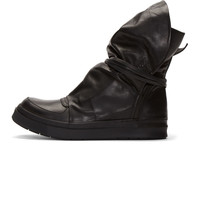 Black Leather Moon Boots42518M050002