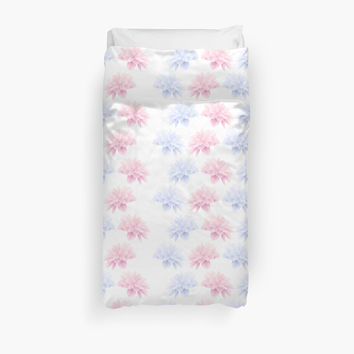 Blooming Flowers, Petals - Pink Blue White