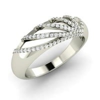 Diamond Ring in Platinum | 0.38 ct. tw. | Round Cut | Alisa | Diamondere