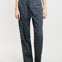 Navy Paisley Woven pyjama bottoms - New This Week - New In - TOPMAN USA