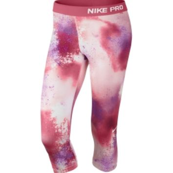 Nike Women's Pro Core Fitted Splatter Compression Tights - Dick's Sporting Goods