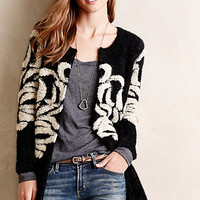 Margalit Eyelash Cardigan by La Fee Verte Black Motif