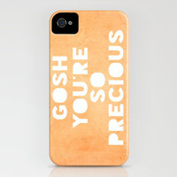 Gosh (Precious) iPhone Case by Rachel Burbee | Society6