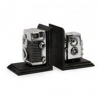 IMAX Vintage Camera Bookends - 36133
