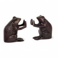 IMAX Frog Bookend (Set of 2) - 60027-2