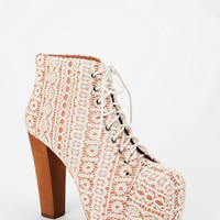 Jeffrey Campbell Crochet Lita Boot
