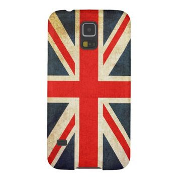Grunge United Kingdom Flag Samsung Galaxy S5 Case