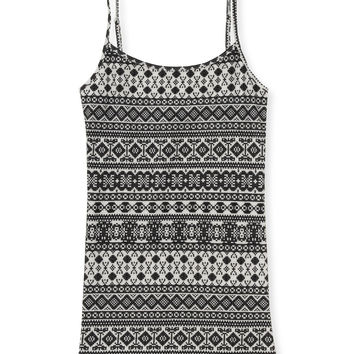 Aeropostale Fair Isle Cami - Cream, X-Small