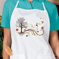 Autumn Winds New Apron, Fall Cook Events Gifts, You Choose Color. See Pictures