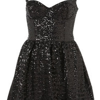 Sequin Strappy Prom Dress - New In This Week  - New In