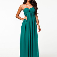 Dreamy Dress - Nly Trend - Petrol - Party Dresses - Clothing - Women - Nelly.com