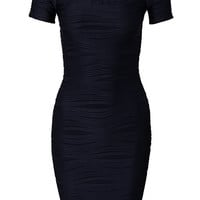 Ripped Bodycon Dress - Ax Paris - Navy - Party Dresses - Clothing - Women - Nelly.com