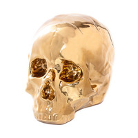 space519 — Seletti Limited Edition Gold Porcelain Skull