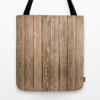 Wood I Tote Bag by Bruce Stanfield