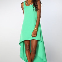 The Guest List Dress in Apple Green