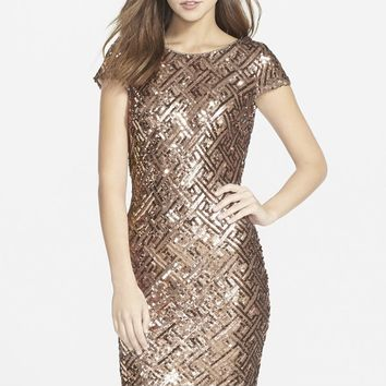 Dress the Population 'Tabitha' Sequin Minidress | Nordstrom