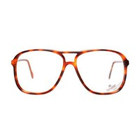 Etsy Transaction - Aviator Amber Vintage Eyeglasses
