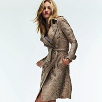 Lace Trench by Burberry