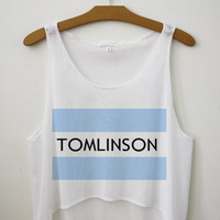 Tomlinson One Direction Tank Top